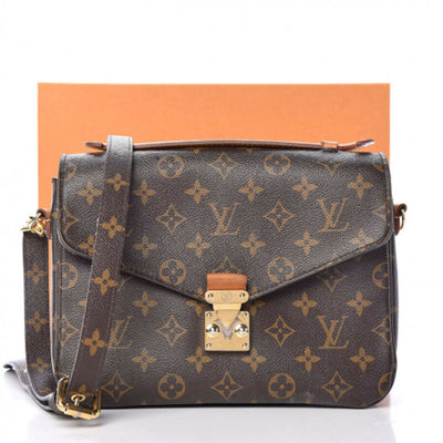 Louis Vuitton Pochette Metis Monogram Canvas Shoulder Bag