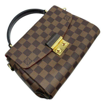 Louis Vuitton Croisette Brown Damier Ébène Canvas Cross Body Bag