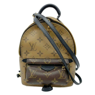 Louis Vuitton Palm Springs Mini Brown Monogram Reverse Canvas Backpack