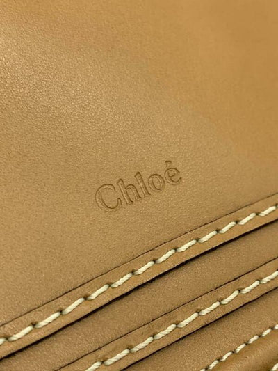 Chloé Top Handle Marcie Brown Leather Shoulder Bag