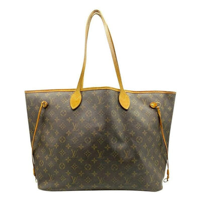 Louis Vuitton Neverfull Gm Brown Monogram Canvas Tote