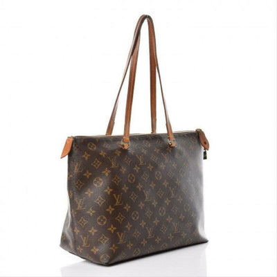 Louis Vuitton Iena Mm Brown Monogram Canvas Tote