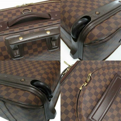 Louis Vuitton Pegase 55 Carry Brown Damier Ébène Canvas Weekend/Travel Bag