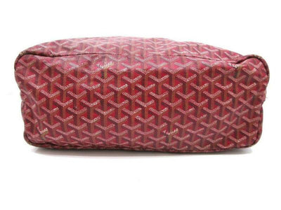 Goyard Saint Louis Pm with Pouch Special Edition Red Coated Canvas Tote