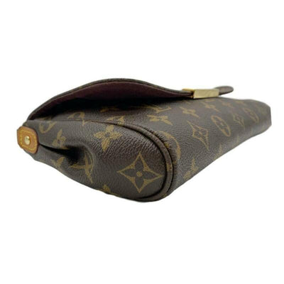 Louis Vuitton Favorite Mm Brown Monogram Canvas Cross Body Bag