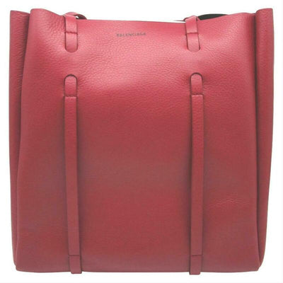 NEW Balenciaga Everyday Small Red Leather Tote $1185