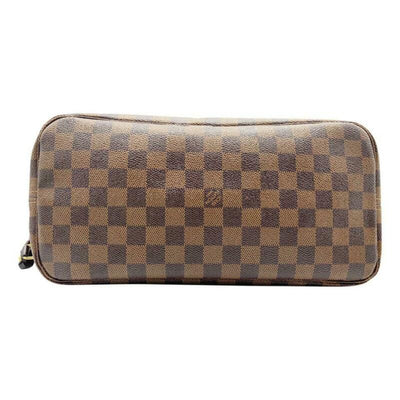 Louis Vuitton Neverfull Mm Pink Rose Ballerine Brown Damier Ébène Canvas Tote