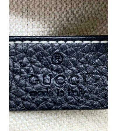 Gucci Soho Disco Black Leather Cross Body Bag