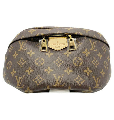Louis Vuitton Bumbag Fanny Pack Brown Monogram Canvas Messenger Bag