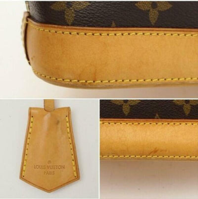 Louis Vuitton Alma Bb Brown Monogram Canvas Cross Body Bag