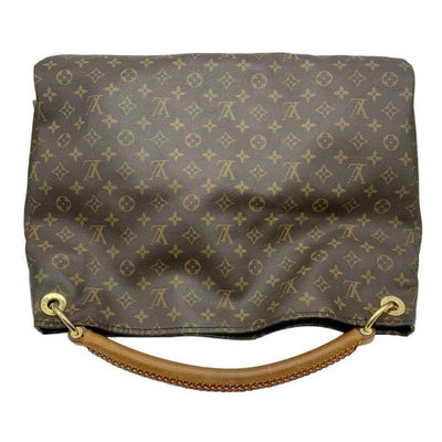 Louis Vuitton Artsy Gm Brown Monogram Canvas Hobo Bag