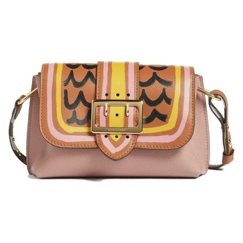 Burberry Small Medley Dusty Pink Leather Cross Body Bag