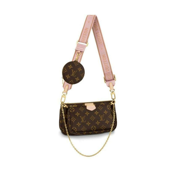 Louis Vuitton Pochette Multi-pochette Accessories Rose Clair Pink Monogram