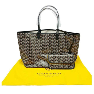 Goyard Saint Louis (St. Louis) Pm 2019 Black Coated Canvas Tote