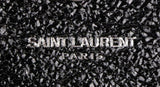 Saint Laurent Collège Mini Quilted Monogram Punk Crackled Chain Black Leather