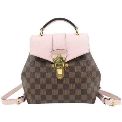 Louis Vuitton Clapton Magnolia Brown Damier Ébène Canvas Backpack