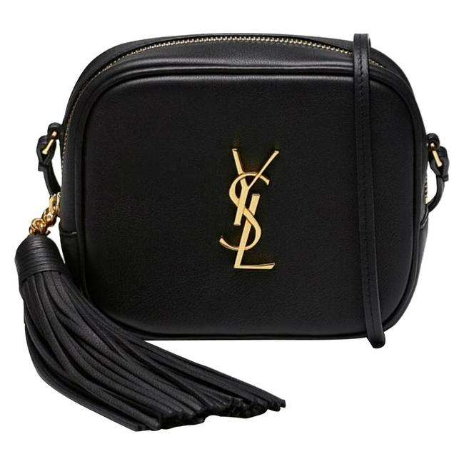 Saint Laurent Monogram Blogger Nappa Camera Black Leather Cross Body Bag
