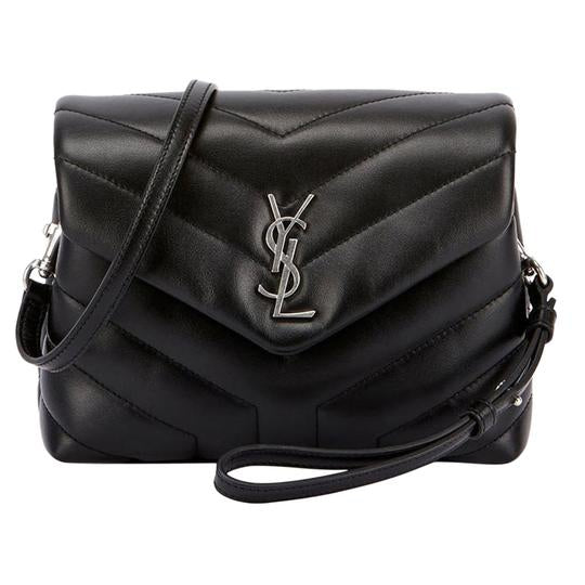 Saint Laurent Monogram Loulou Crossbody Toy Black Leather Shoulder Bag