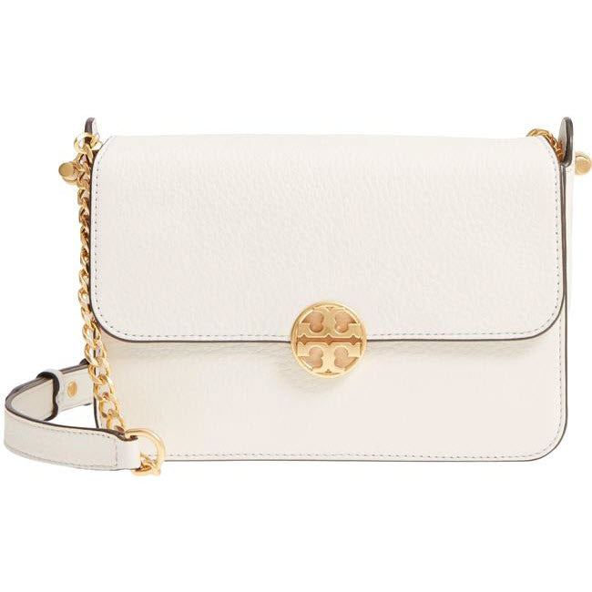 Tory Burch Crossbody Chelsea White Leather Shoulder Bag