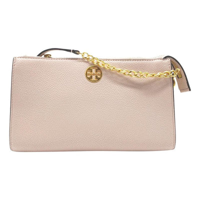 Tory Burch Crossbody Mini Everly Shell Pink Leather Shoulder Bag