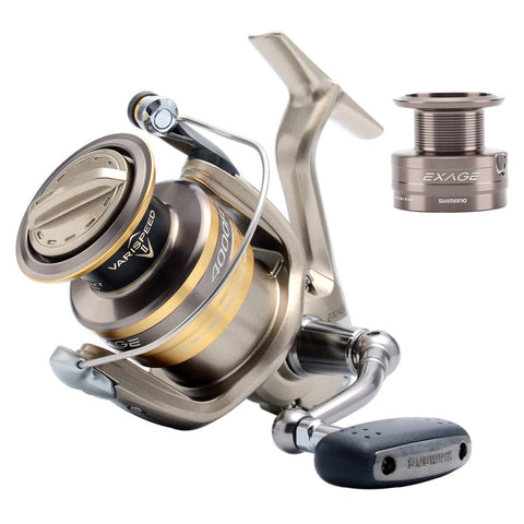 Top Quality Shimano brand Exage 1000 2500 3000S 4000FD 5000FC Spinning Fishing Reel 5BB Fishing Gear Tackle Saltwater XGT-7