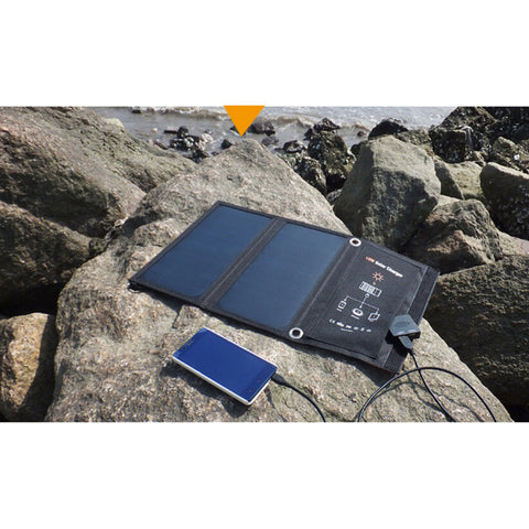 *FREE SHIPPING* 15W Foldable Solar Panel Charger With Dual USB Ports