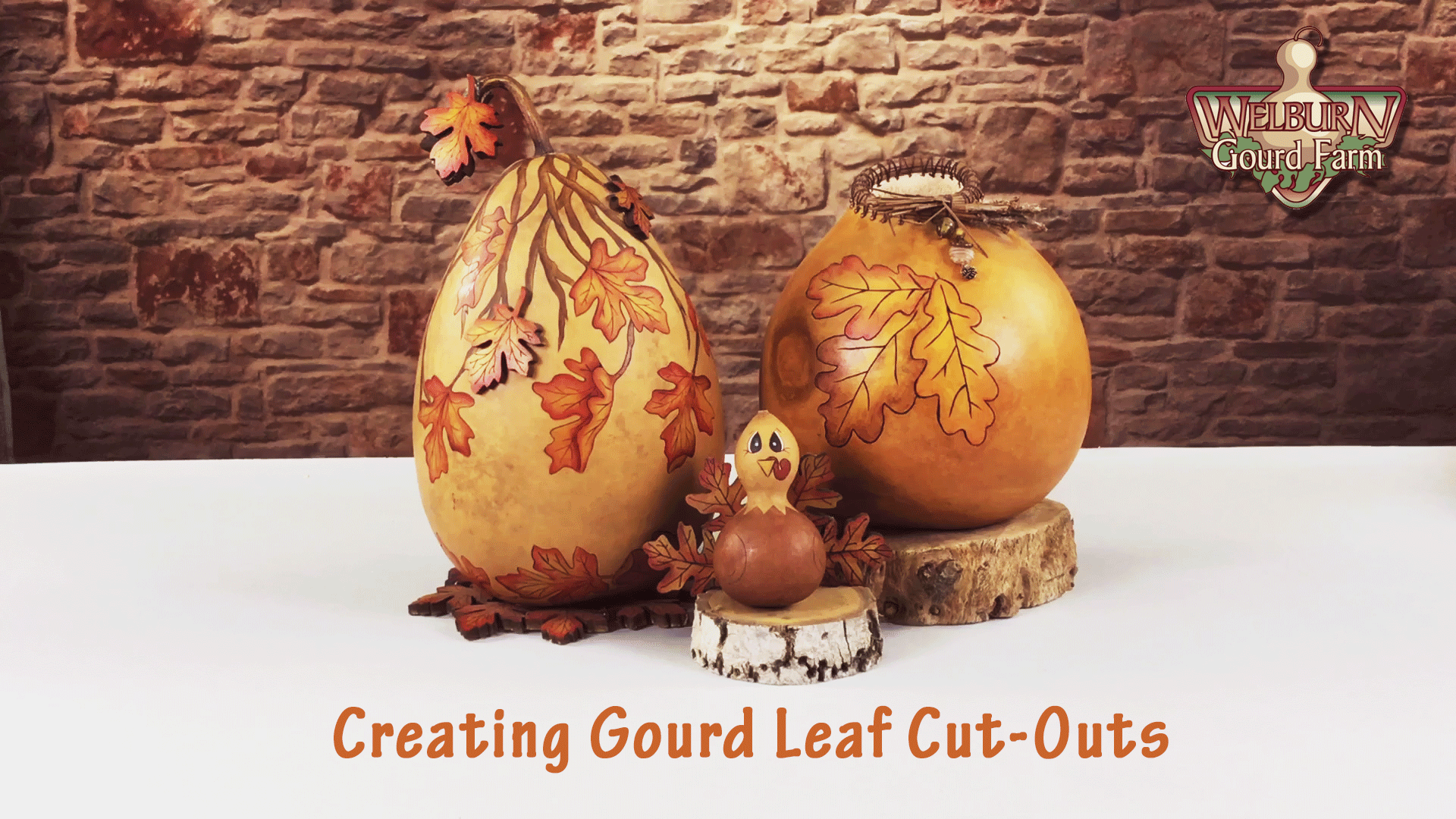 Creating a Gourd Leaf Cut-Out