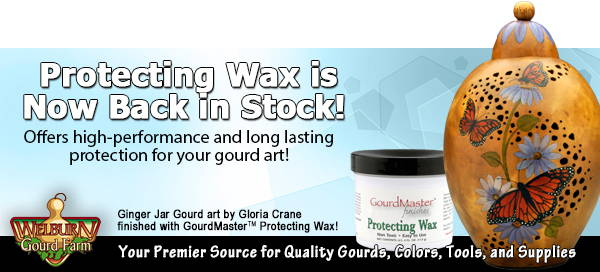 February  13, 2021: Gourd Wax is back! Plus Get 2 Free pack of Blank Stick 'n Burn with your purchase of a GloTracer!