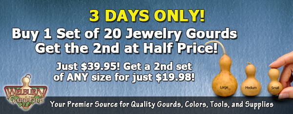 July 8 2020: 3 days only, Jewelry gourds Buy-1-Get-1 at 50% off, Lamp Kits are back, and more!