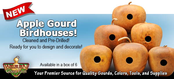 February 24 , 2021: NEW Box of Apple Gourd Birdhouses, plus Jigsaws Back in Stock!