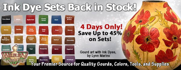 November 14, 2020: Ink Dyes Back in Stock! Save Up to 45% on Ink Dyes When You Order By the Set!
