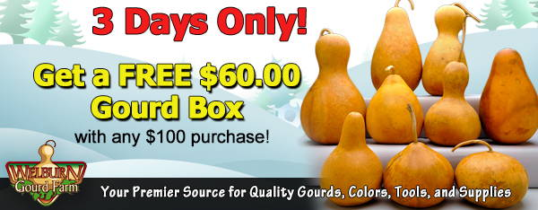 December 16, 2020: 3 days only, get a Free $60.00 Gourd Box!