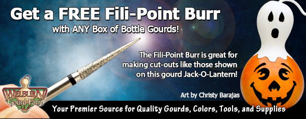 October 3, 2020: 3 Days Only, Get a Free Fili-Point Burr!