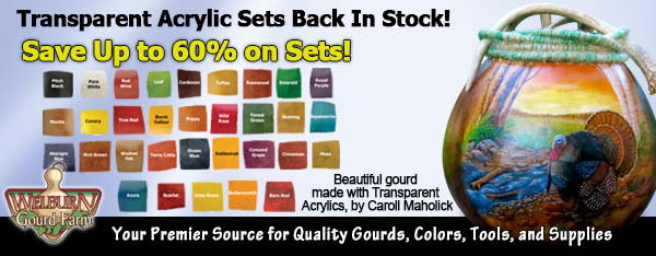 September 23, 2020: Get up 60% off Transparent Acrylic Sets!