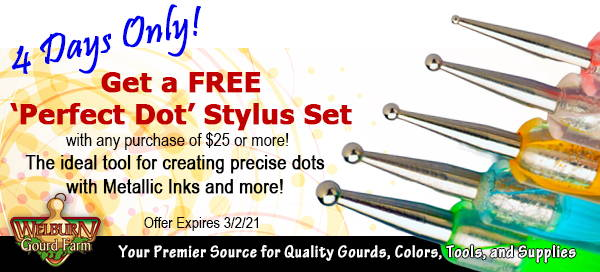 February 27, 2021: 4 Days Only! Fun Free Gift, plus the ZipCutter Burr Back in Stock!