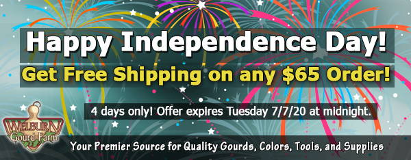 July 4, 2020: 4 Days Only, Get FREE Shipping on Any Order over $65!