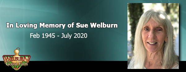 Remembering Sue Welburn