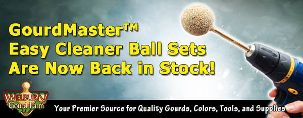 October 24, 2020: GourdMasterTM Easy Cleaner Balls and Sets Now in Stock!