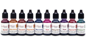 New Ink Dye Colors 10-Pack with FREE 20 FineTip Apllicators