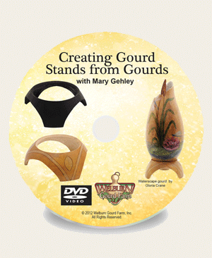 Creating Stands from Gourds