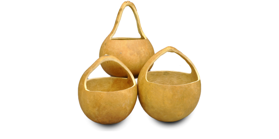 Gourd Baskets, Pre-Cut and Craft-Ready