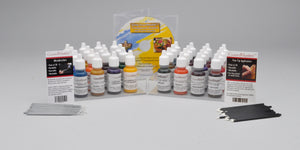 Sets of GourdMaster Transparent Acrylics