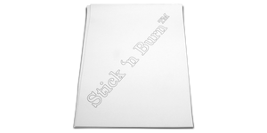 Blank Stick n' Burn Design Transfer Sheets (Ink Jet Printer)