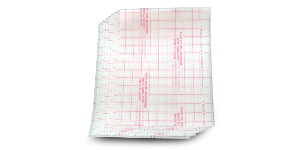 Blank Stick 'n Burn Design Transfer Sheets (Laser Printer)