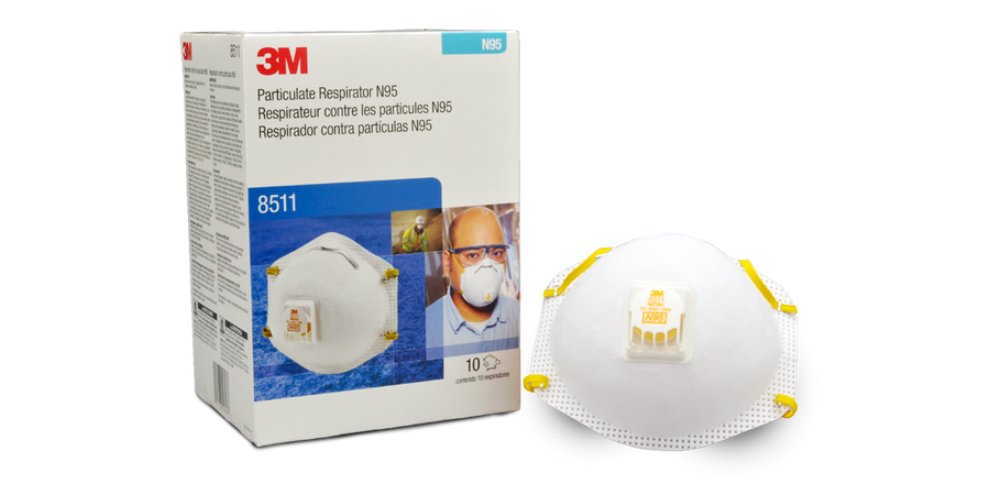 3M Dust Mask with Cool Flow Exhalation Valve