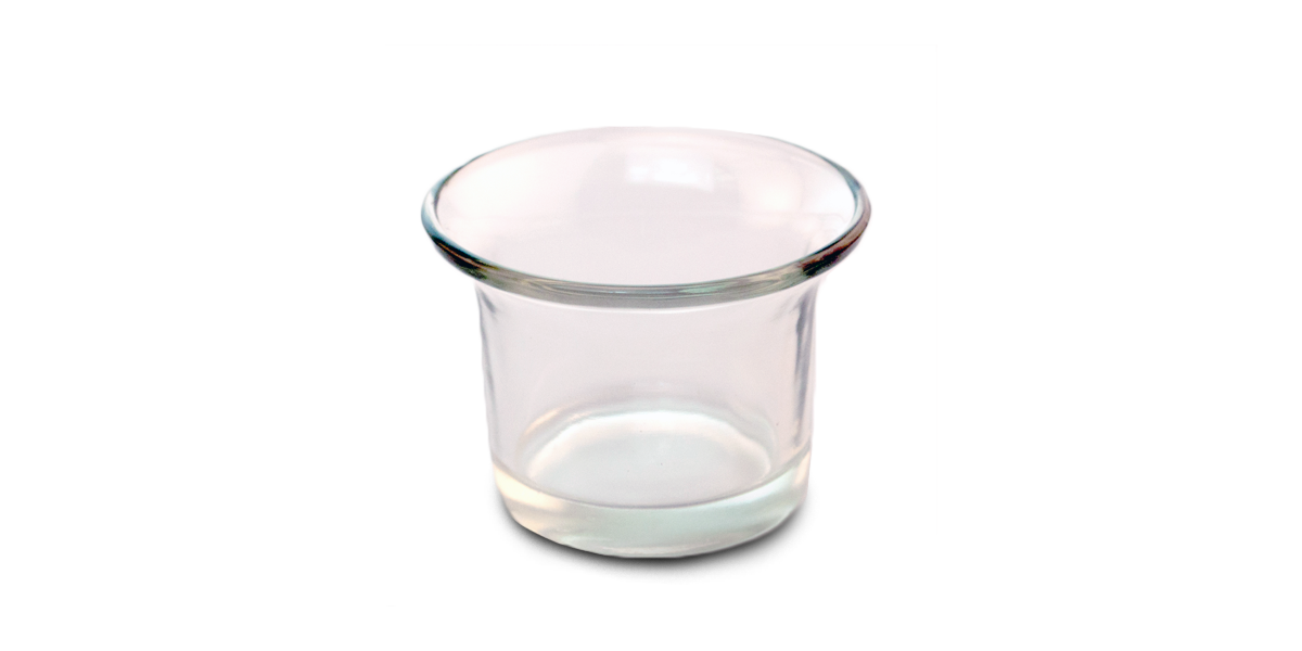 Small Glass Votive Holder