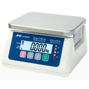 A&D SJ-WP Series Bench Scales