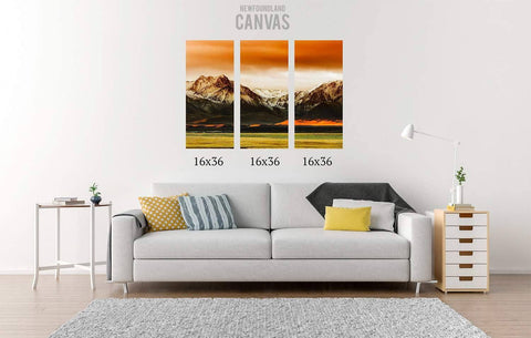 48x36 Canvas Split Canvas Newfoundland Canvas