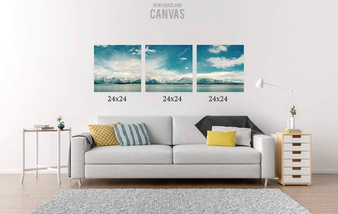 72x24 Canvas Split Canvas Newfoundland Canvas