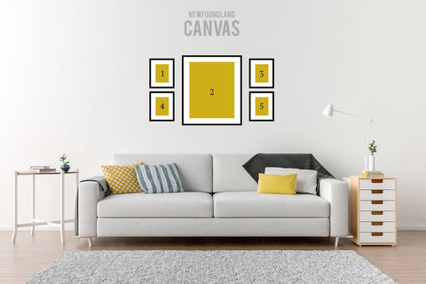 Cupids Gallery Wall Newfoundland Canvas